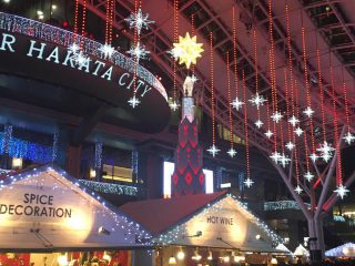 Christmas market in Hikari no Machi HAKATA 2018